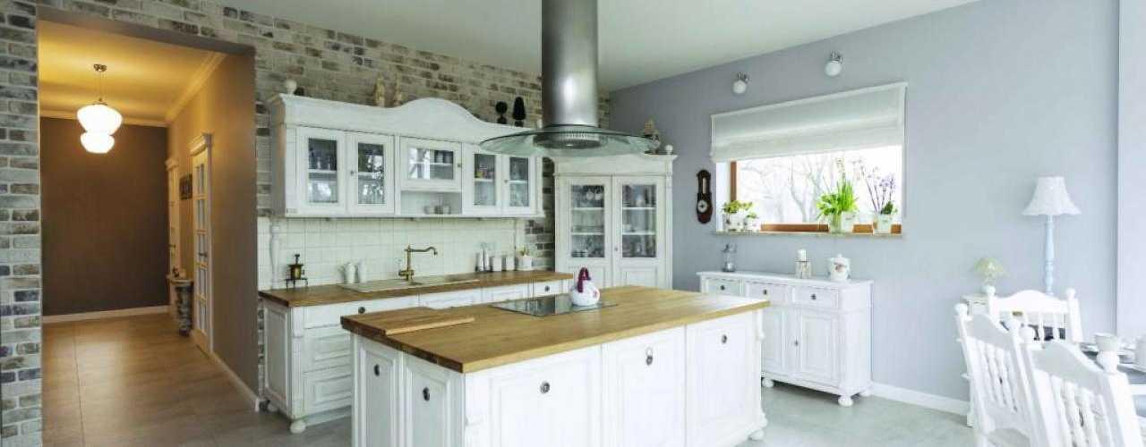 wyspa w kuchni dom nowoczesny