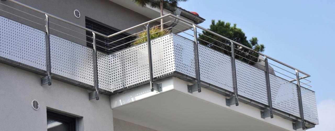 Cudowna Nowoczesne balkony i tarasy - Dom Nowoczesny NV55