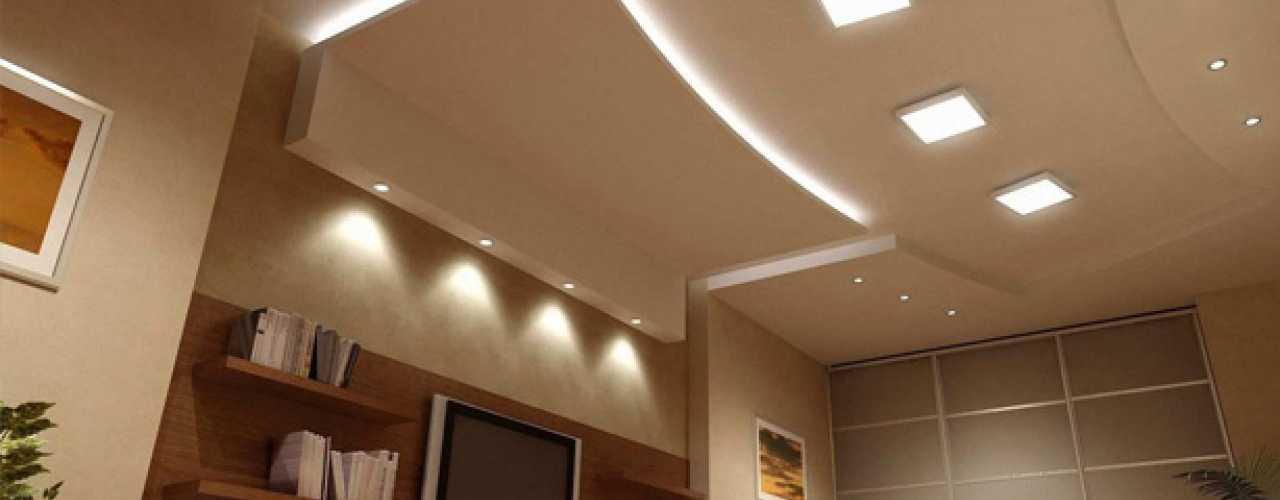 Oświetlenie Sufitowe Led Dom Nowoczesny