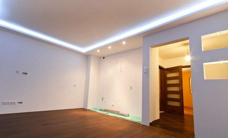 O wietlenie sufitowe led dom nowoczesny - Bodenstrahler wohnzimmer ...