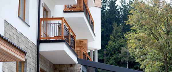 Taras I Balkon Na Długie Lata Kreisel Dom Nowoczesny