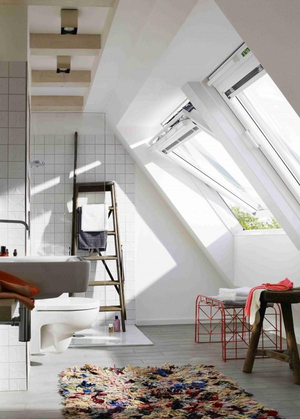 Okno Dachowe Do łazienki Dom Nowoczesny