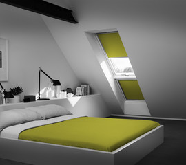 Rolety Colour by You od Velux w 1800 kolorach